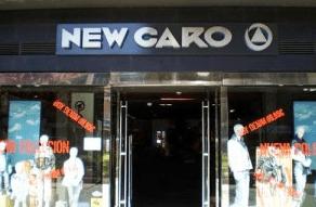 Rótulos para exterior tienda New Caro