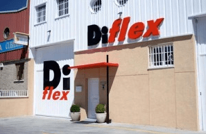 Rótulo exterior para Diflex