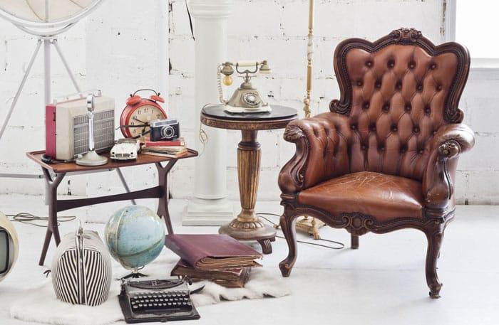 Muebles y Letras Vintage
