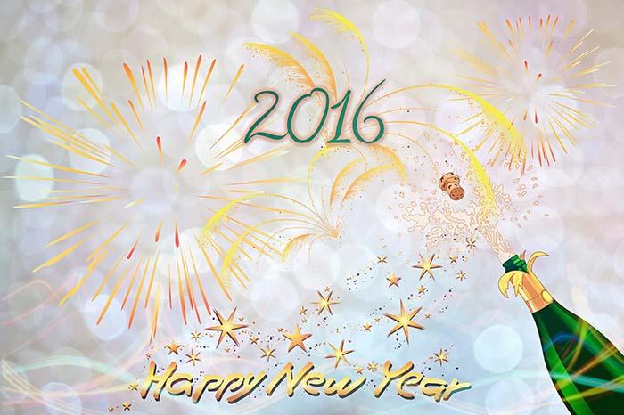 feliz años 2016