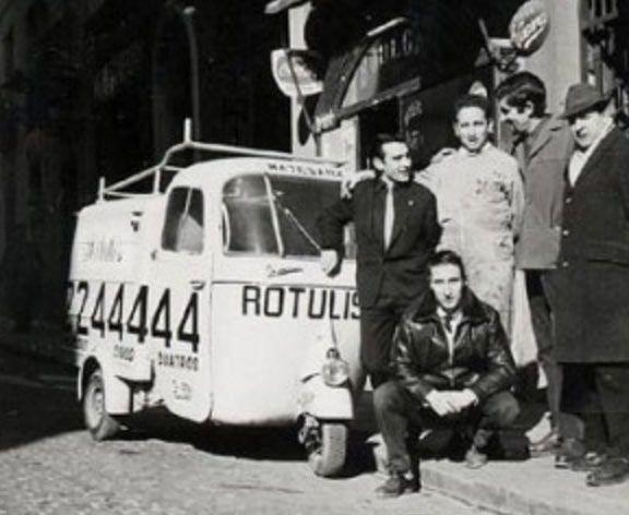rotulos matesanz hace 65 años