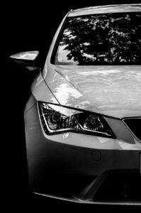 coche de frontal