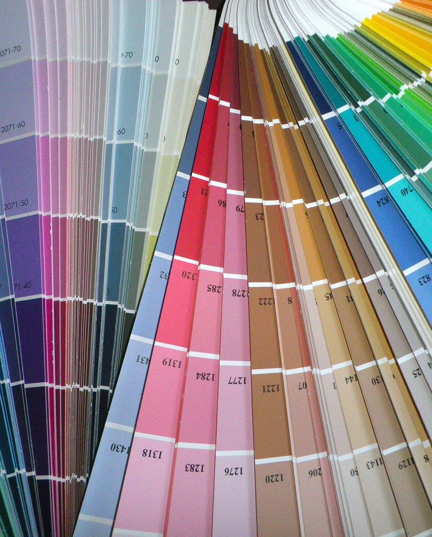 carta de colores para imprenta