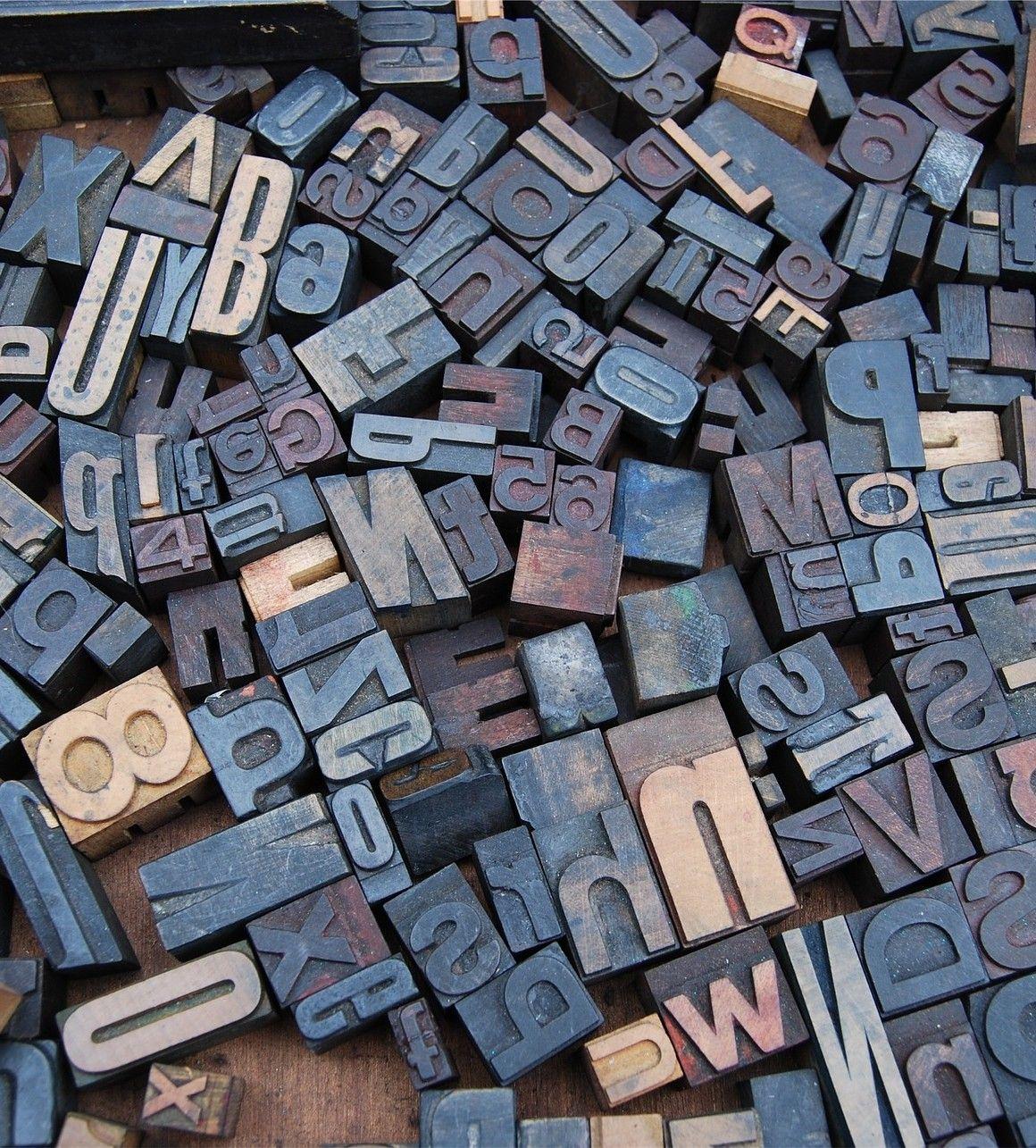 tipos de madera para imprenta