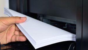 impresora multifunción detalle