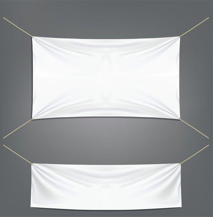lonas decorativas blancas