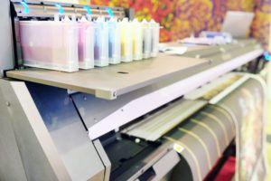 máquina profesional de impresión