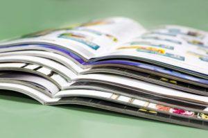 folletos abiertos
