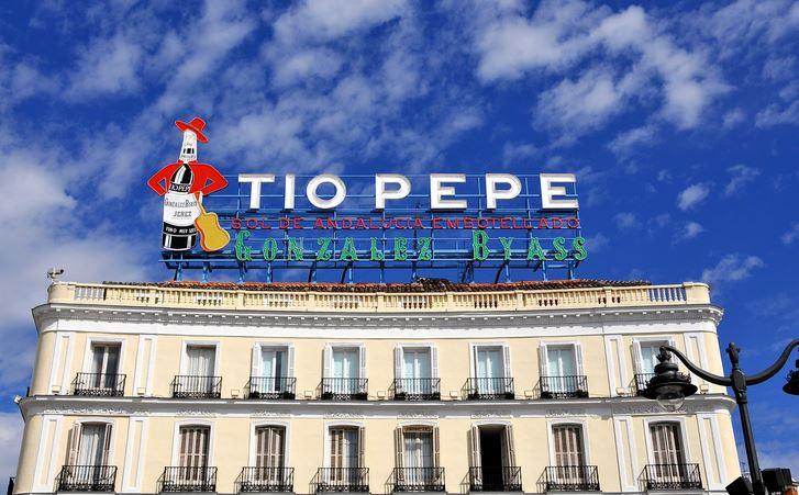 el cartel de tio Pepe