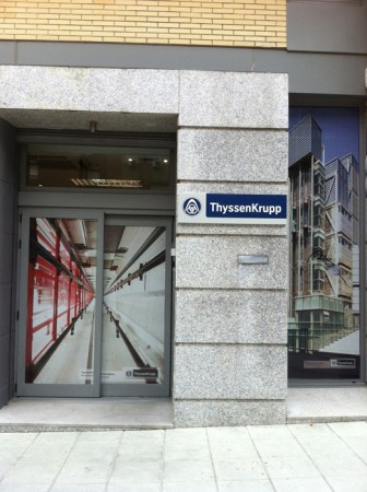 Aviso de ThyssenKrupp