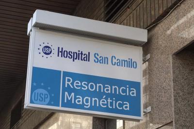 Detalle rótulo resonancia magnética