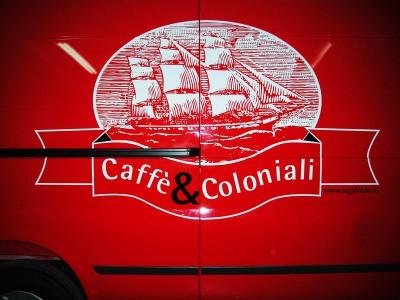Rotulación Caffè & Coloniali