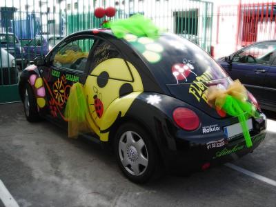 Rotulación de vehículo estilo flower