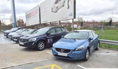 Rotulación de vehículos Volvo World Padel