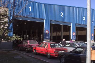 Rotulación entrada de vehículos