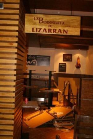Rotulado de entrada Lizarran