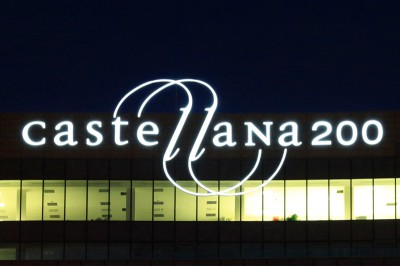 Rótulo luminoso Castellana 200