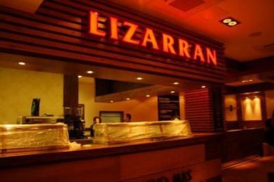 Rótulo luminoso Lizarran