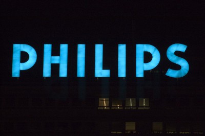 Rótulo luminoso Philips
