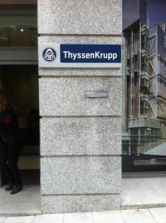 Señalización de ThyssenKrupp