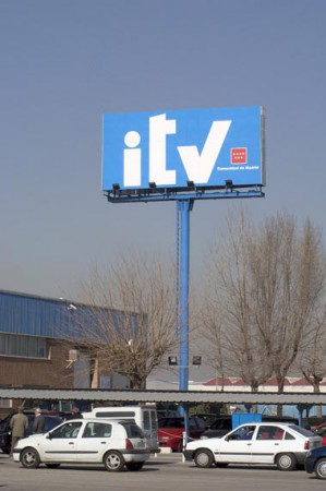 Señalización en altura ITV
