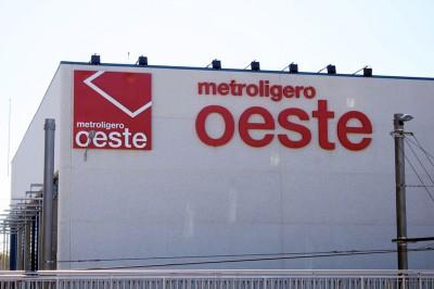 Vista exterior rotulación Metroligero Oeste