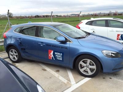 Volvo vehículo oficial Word Padel Tour